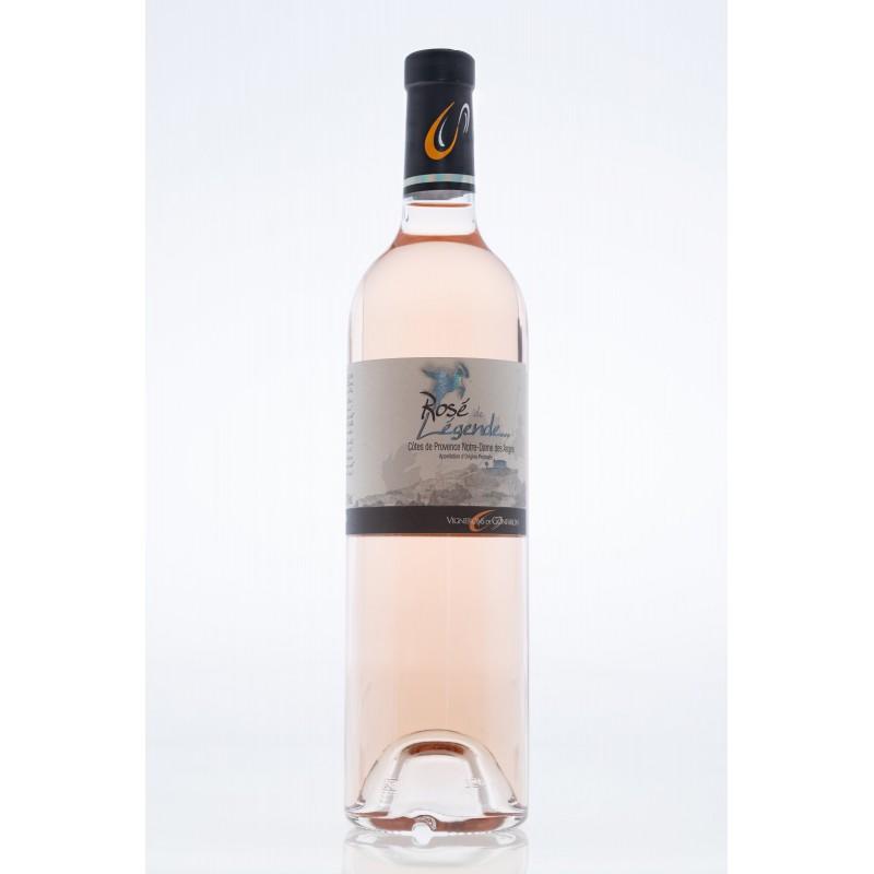 Vin Rosé - Côtes de Provence - Les Vignerons de Gonfaron - Rosé de légende - Rosé 2020