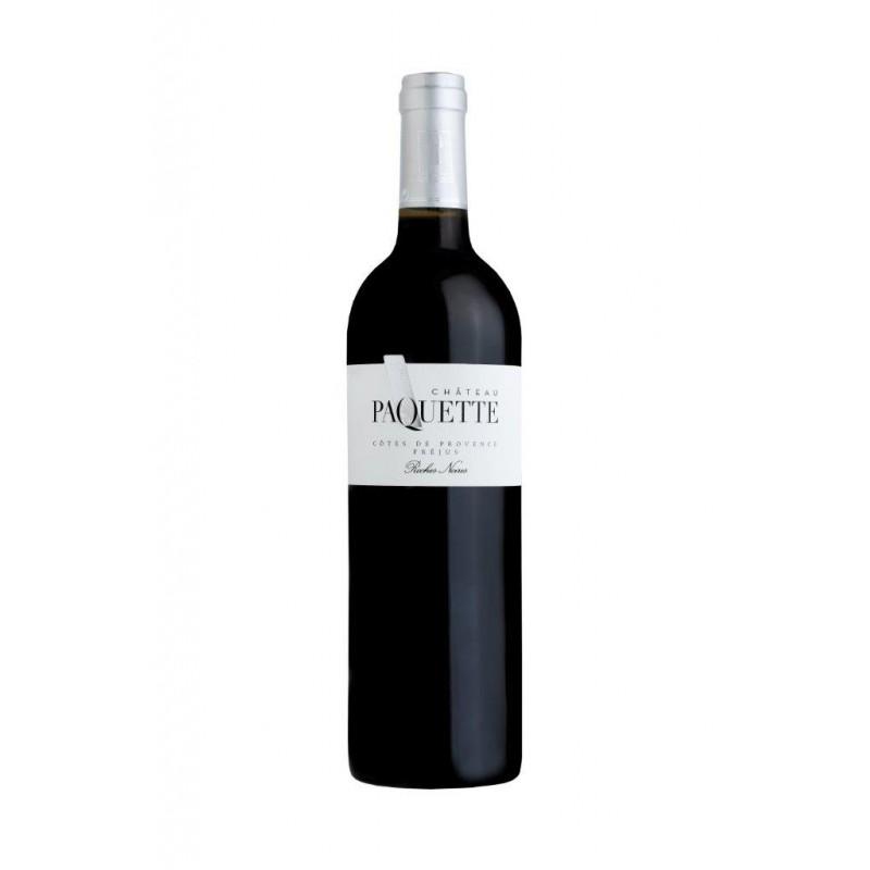 Vin Rouge - Côtes de Provence - Château Paquette - Roches noires - Rouge 2019