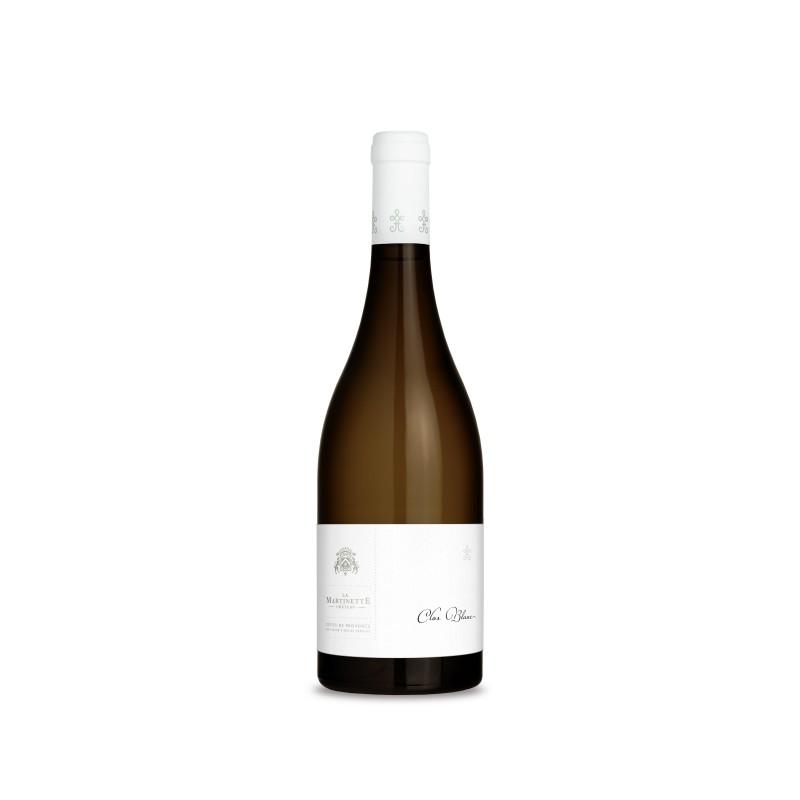 Vin Blanc - Côtes de Provence - Château la Martinette - Le Clos Blanc - Blanc 2018