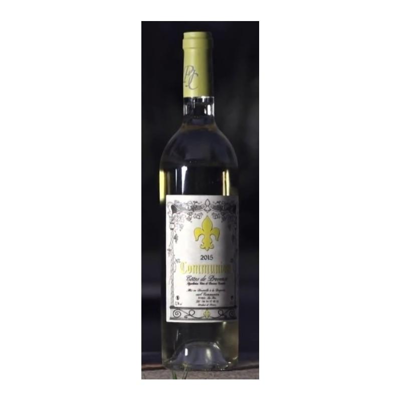 Vin Blanc - Côtes de Provence - Domaine de Communion - Blanc 2016