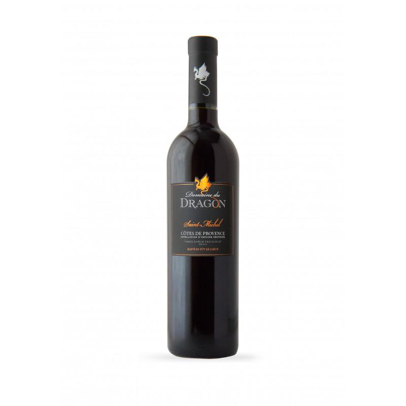 Vin Rouge - Côtes de Provence - Domaine du Dragon - Saint Michel - Rouge 2016