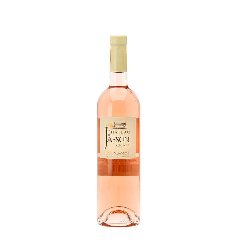 Vin Rosé - Côtes de Provence - Chateau de Jasson - Éléonore - Rosé 2020