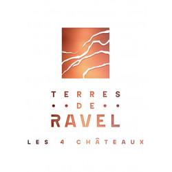Vin Rouge - Côtes de Provence - Vignobles Ravel - Chateau Montaud - Terres de Ravel - Rouge 2019