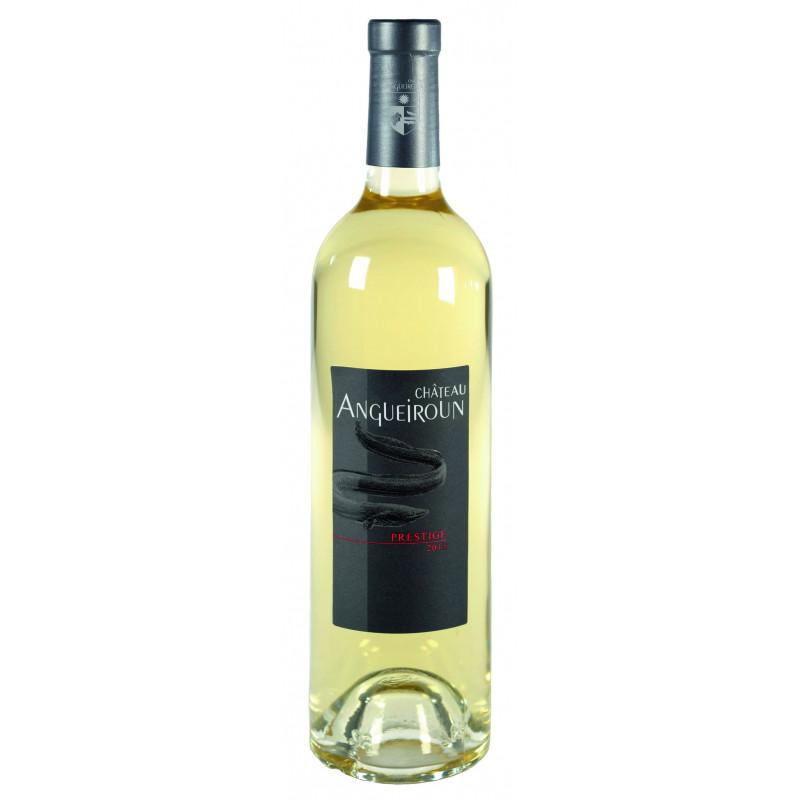 Vin Blanc - Côtes de Provence - Chateau Angueiroun - Prestige - Blanc 2016