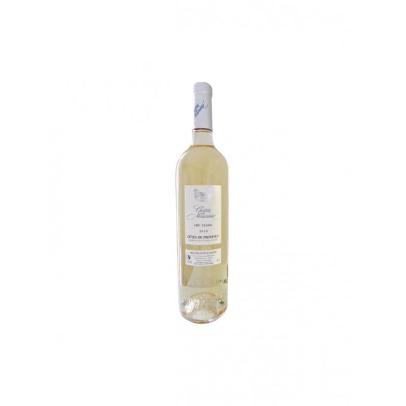 Vin Blanc - Côtes de Provence - Château Mauvanne - Blanc 2018
