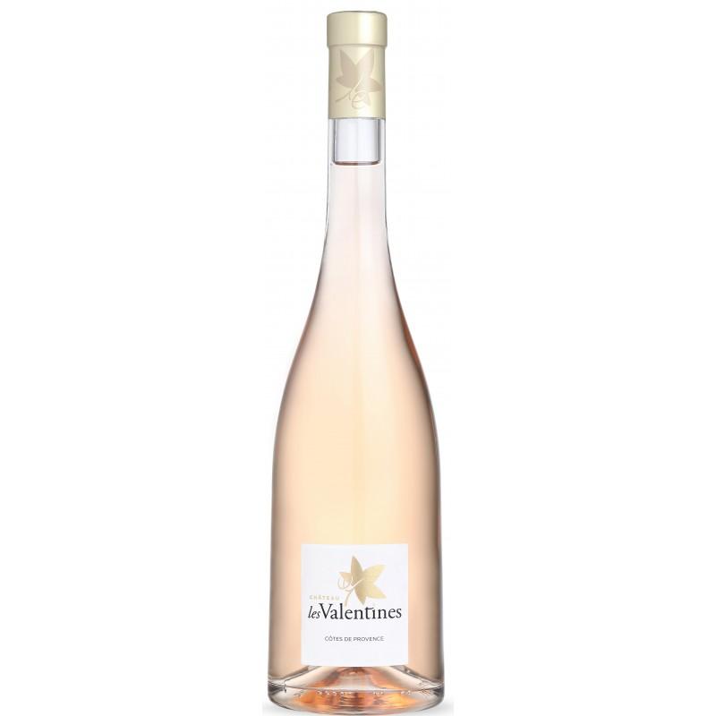 Vin Rosé - Côtes de Provence - Château les Valentines - Rosé 2020