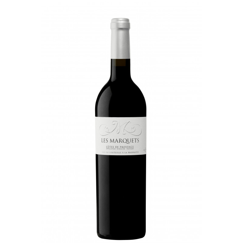Vin Rouge - Côtes de Provence - Les Vignerons du Plan de la Tour - Les Marquets - Rouge 2017