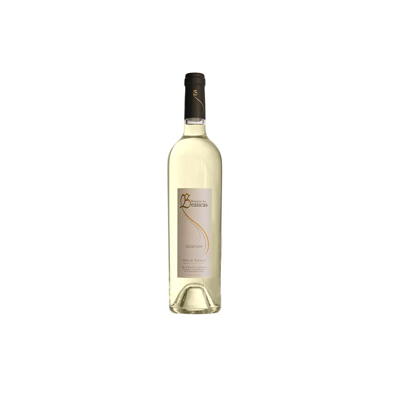 Vin Blanc - Côtes de Provence - Domaine de Beaucas - Exception - Blanc 2020