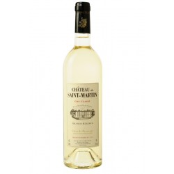 Vin Blanc - Côtes de Provence - Chateau Saint Martin - Grande Réserve - Blanc 2019