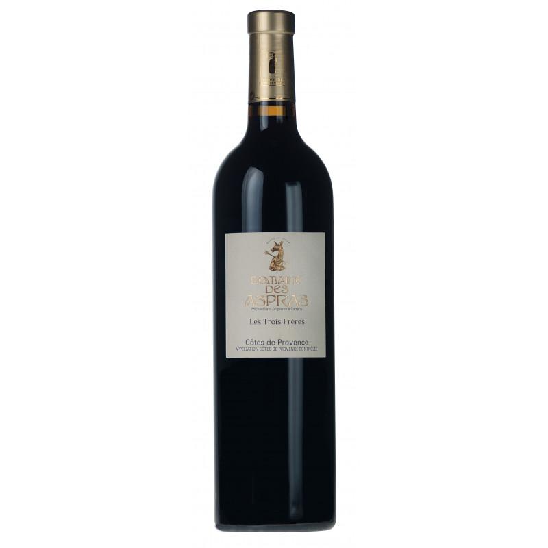 Vin Rouge - Côtes de Provence - Domaine des Aspras - Trois Frères - Rouge 2019