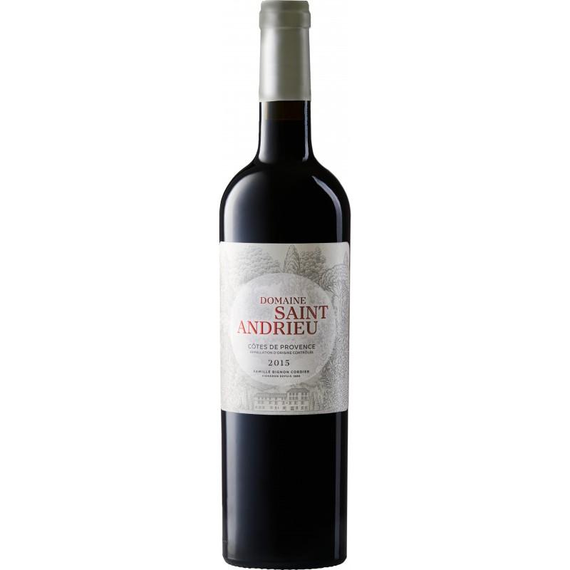 Vin Rouge - Côtes de Provence - Domaine Saint Andrieu - Rouge 2015